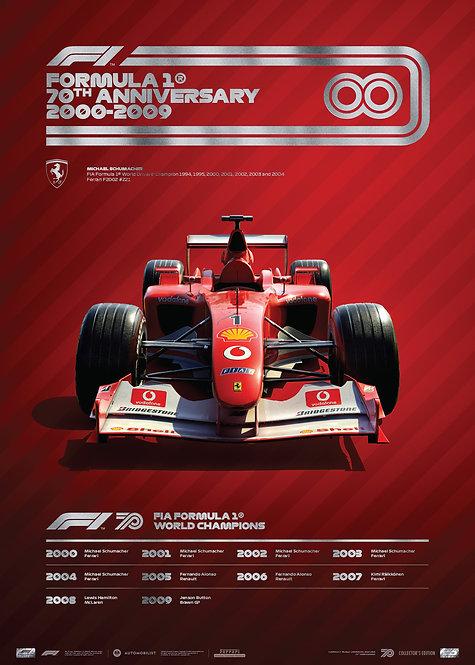 FORMULA 1® DECADES - 2000s Ferrari | Collector's Edition