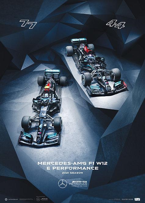 MERCEDES-AMG PETRONAS F1 TEAM - SEASON 2021 | LIMITED EDITION