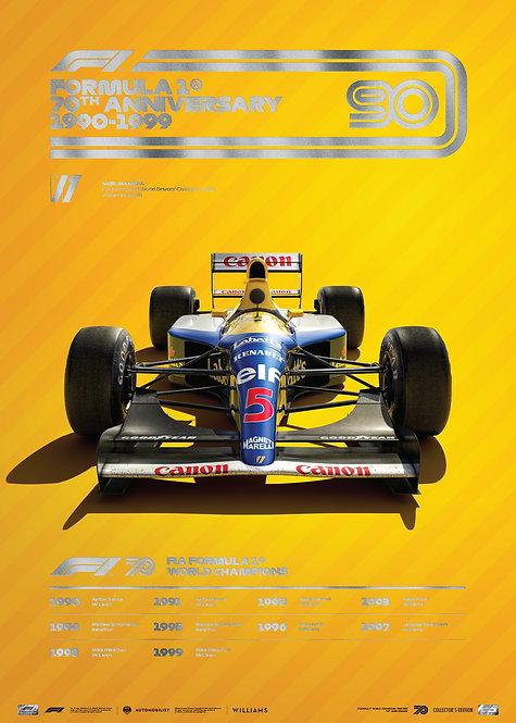 FORMULA 1® DECADES - 90s Williams | Collector's Edition