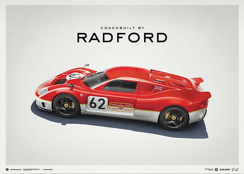 Lotus Type 62-2 - Coachbuilt by Radford - Gold Leaf - 2021 | Limited Edition