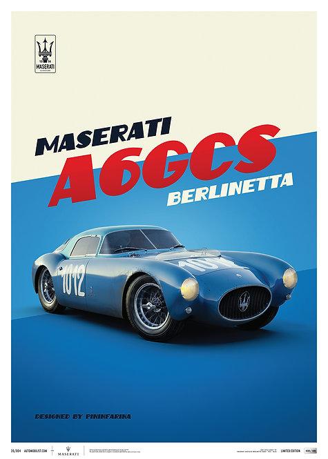 Maserati A6GCS Berlinetta 1954 - Blue | Limited Edition