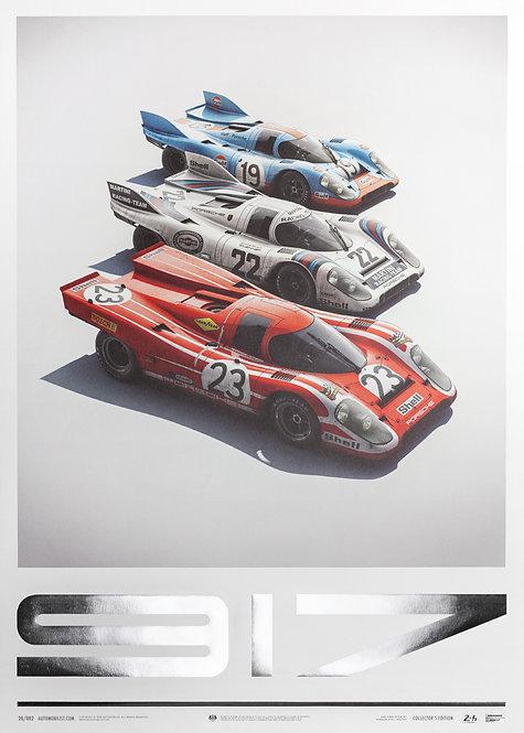 Porsche 917 - Salzburg & Martini & Gulf - 24h Le Mans | Collector's Edition