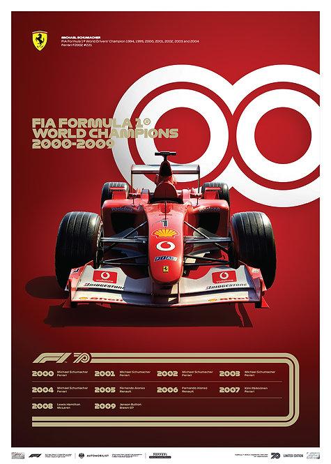 FORMULA 1® DECADES - 2000s Ferrari | Limited Edition