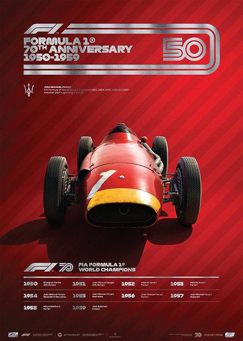 FORMULA 1® DECADES - 50s Maserati | Collector's Edition