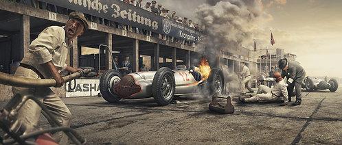 Burn And Crash - Artwork