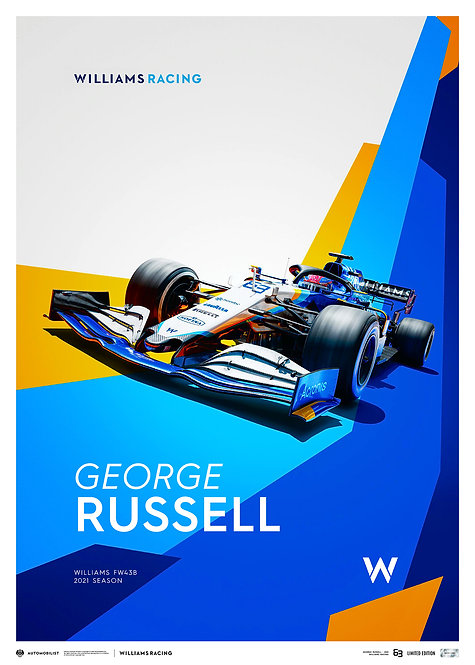 WILLIAMS RACING - GEORGE RUSSELL - 2021 | LIMITED EDITION