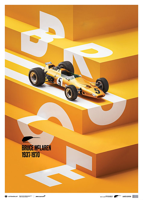 McLaren Papaya - Bruce McLaren special - Spa-Circuit - 1968 | Limited Edition