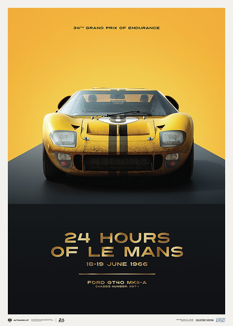 FORD GT40 - XGT-1 - 24H LE MANS - 1966 | COLLECTOR'S EDITION