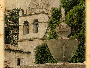 Carmel Mission by Travel Photographer Doug Matthews