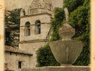 Carmel Mission by Travel Photographer Doug Matthews