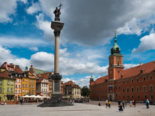 Warsaw Old Town Square by Travel Photographer Doug Matthews