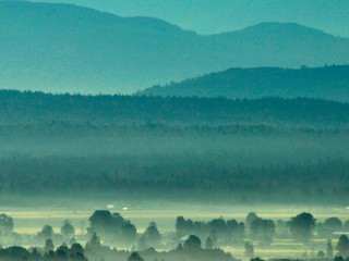 Mountains and Valley by Landscape Photographer Doug Matthews