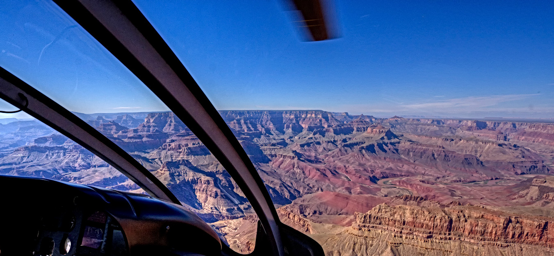 Helo over the Grand Canyon