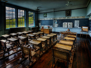 The Old Classroom by Travel Photographer Doug Matthews