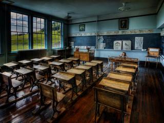 The Old Classroom by Travel Photographer Doug Matthews