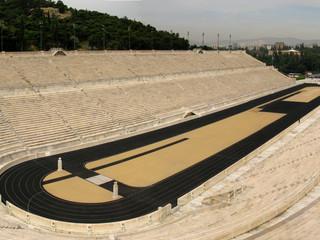 Panathinaiko (Athens' Panathenaic Stadium) by Travel Photographer Doug Matthews