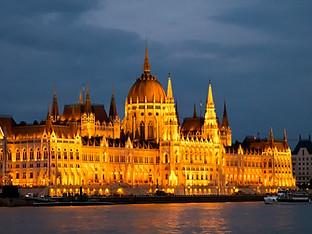 Hungarian Parliament Buildings by Travel Photographer Doug Matthews
