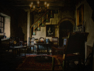 Monk's Salon by Travel Photographer Doug Matthews
