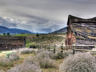Old House And Barn by Landscape Photographer Doug Matthews