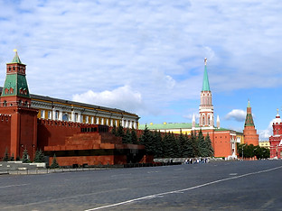 Red Square by Travel Photographer Doug Matthews