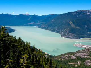 Howe Sound From The Chief by Landscape Photographer Doug Matthews