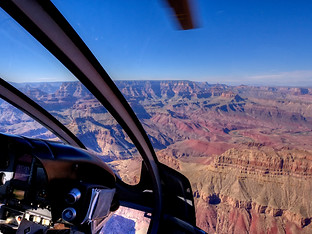 Grand Canyon Helo by Travel Photographer Doug Matthews