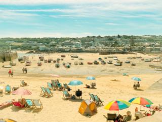 St. Ives' Beach by Travel Photographer Doug Matthews