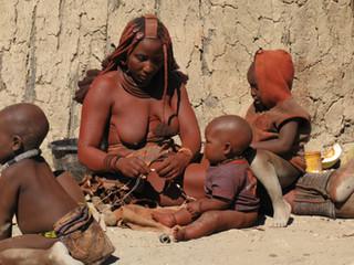 Himba Family by Travel Photographer Doug Matthews