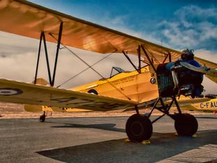 Tiger Moth Aircraft by Travel Photographer Doug Matthews