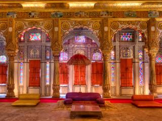 Phool Mahal in Mehrangarh Fort by Travel Photographer Doug Matthews