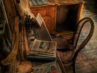 Seamstress Table by Travel Photographer Doug Matthews