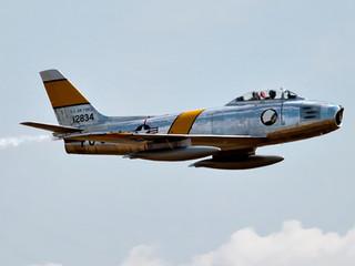 F86 Sabre Aircraft by Travel Photographer Doug Matthews