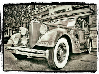 1934 Packard by Travel Photographer Doug Matthews