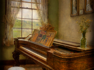 The Old Parlor by Travel Photographer Doug Matthews