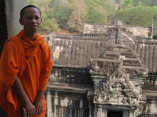 Angkor Monk by Travel Photographer Doug Matthews