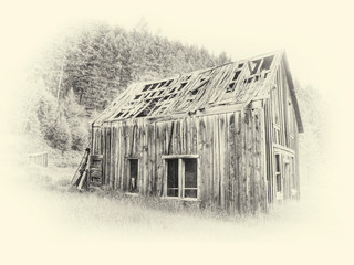 Old Barn by Travel Photographer Doug Matthews