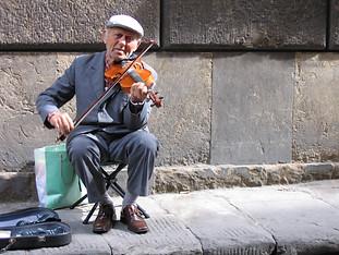 Sidewalk Concerto by Travel Photographer Doug Matthews