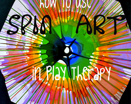 Using Spin Art in Play Therapy