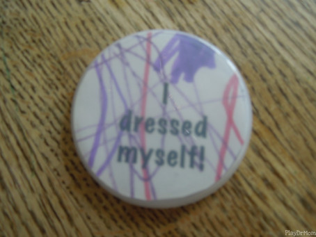 """""""I Dressed Myself"""" - Coping with Your Child's Independence"""