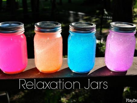 Relaxation Glitter Jars