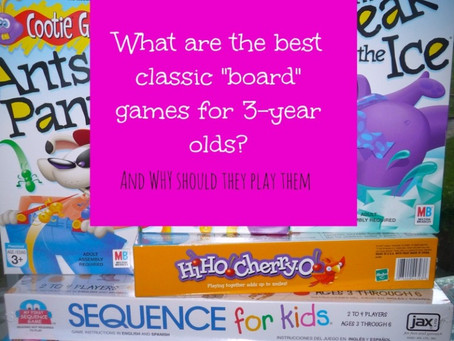 The GAMES we Play: Great Games to Play with Young Children