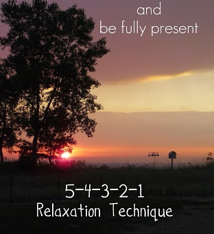 54321 Relaxation Technique
