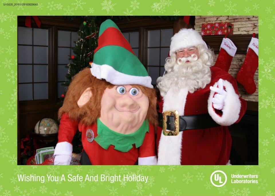 Santa Keith and Elf