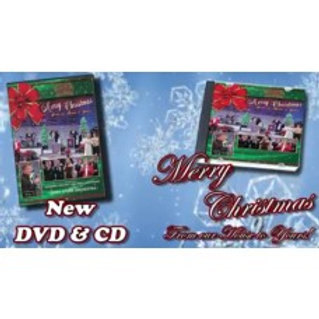 Christmas DVD & CD combo