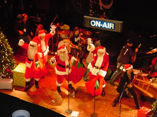 WLUP FM Christmas Party