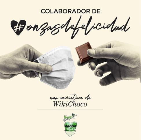 Colaboración Wikichoco - Mascarillas de Madrid