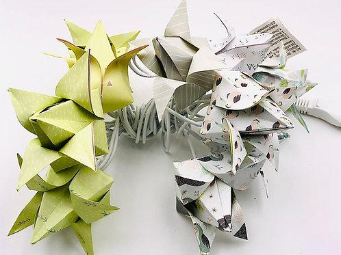 Lichterkette Tulpe Faultier Hellgrün