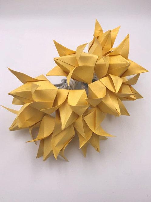 Lichterkette Tulpe  Satogami Gelb