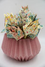 origami Plissea Workshop in München Japan in München Kawaii japandesign origamifalten Kindergeburtstag Feiern Origamideko Weihnachtsbaumschmuck basteln tulpen 5.JPG