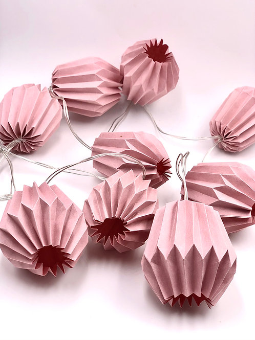 Lichterketten Plissea (rosa)